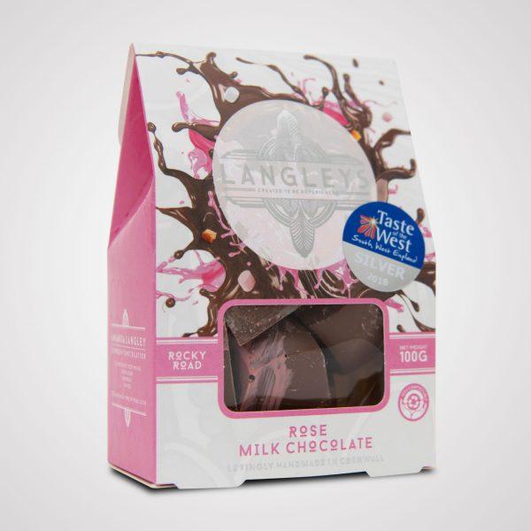 milk chocolate rose rocky road