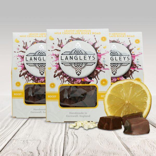 3 cartons of lemon meringue rocky road