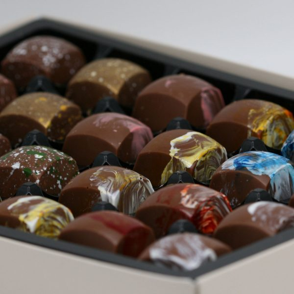 milk chocolate collection box