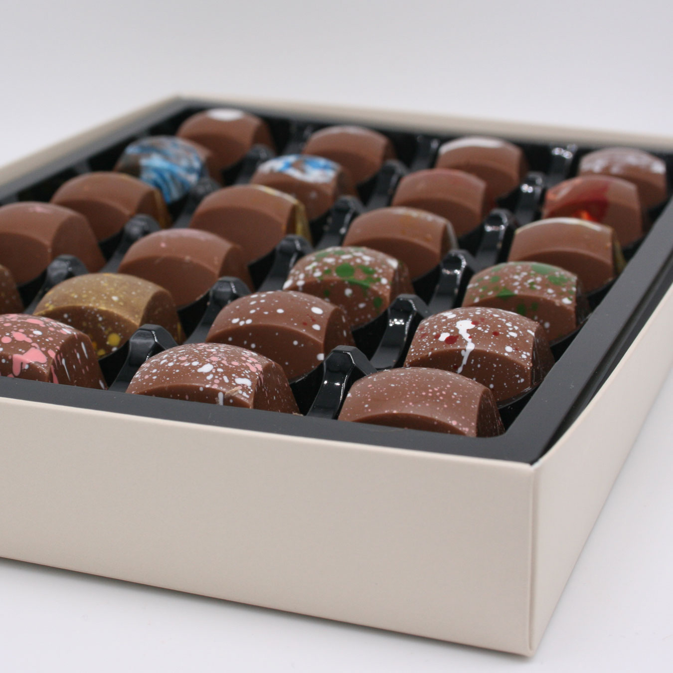 milk collection of milk chocholate rocky road