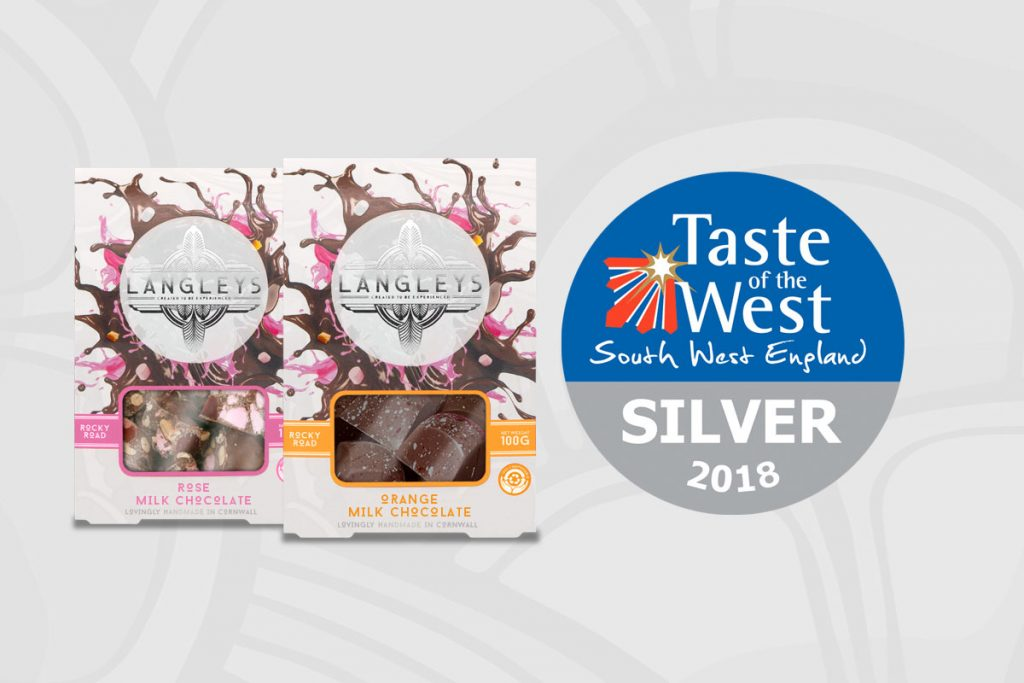 Taste of the west award winners Langley rocky road chocolate