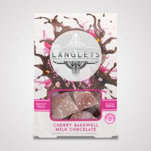 cherry bakewell rocky road milk chocolate