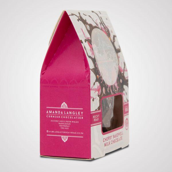 cherry bakewell rocky road milk chocolate