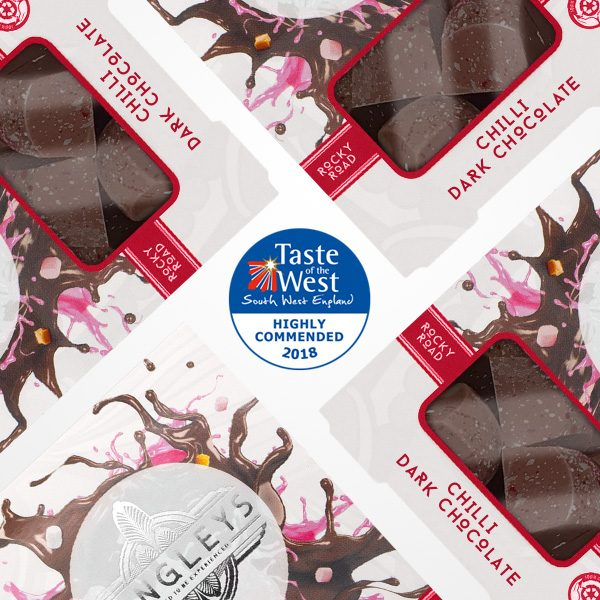 chilli rocky road dark chocolate highly commended
