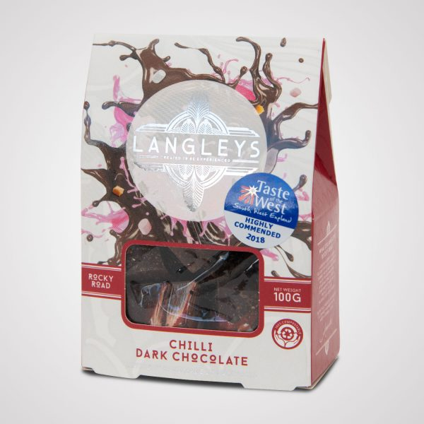 chilli rocky road dark chocolate