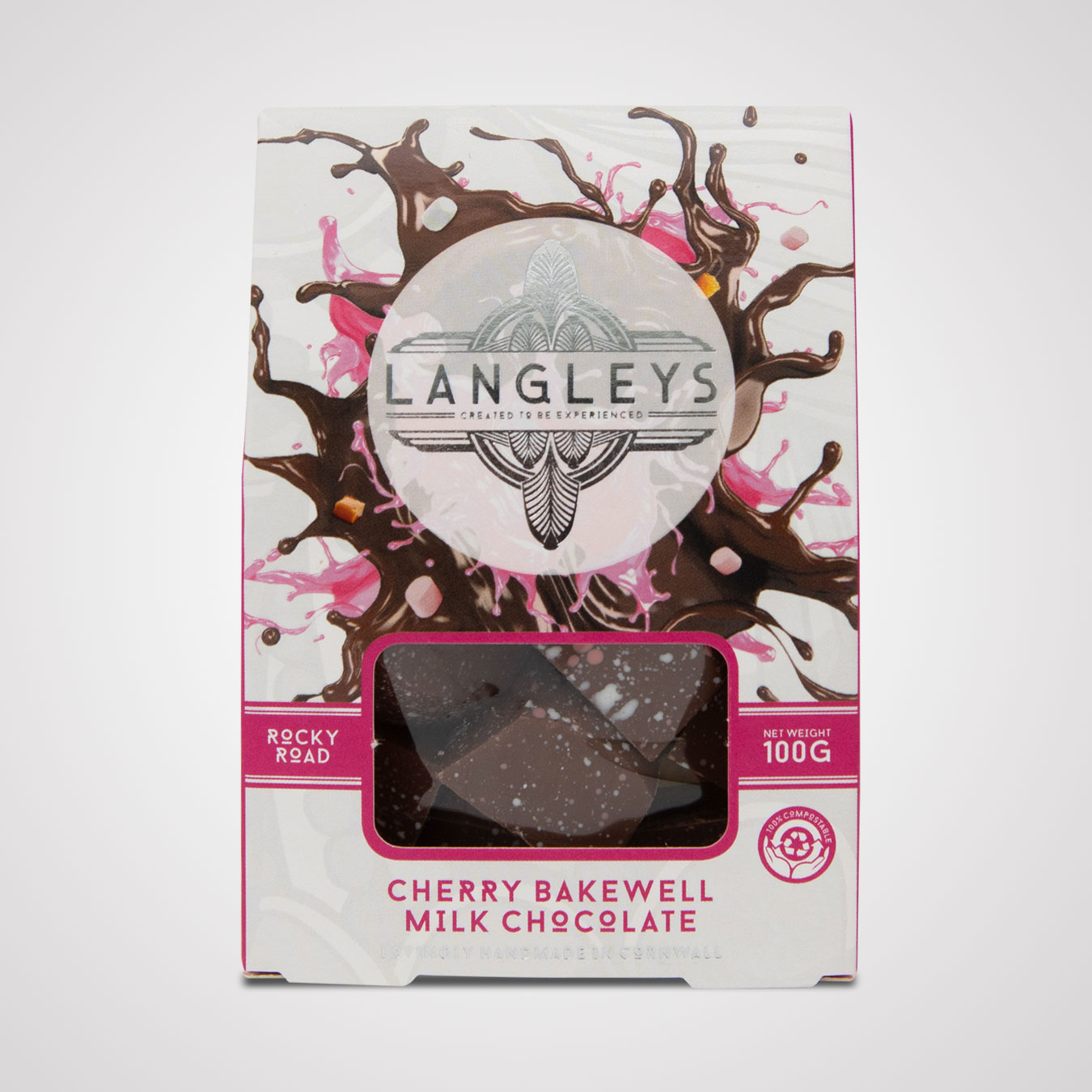 Cherry Bakewell Rocky Road