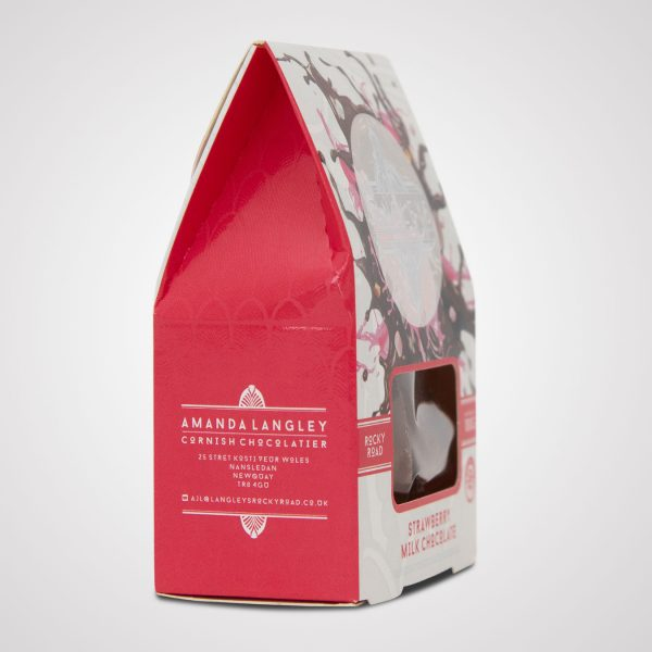 langleys strawberry rocky road milk chocolate