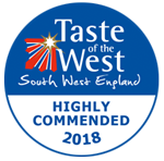 taste of the west award highly commended 2018 winner