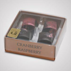chocolate cranberry and raspberry 4 choc box
