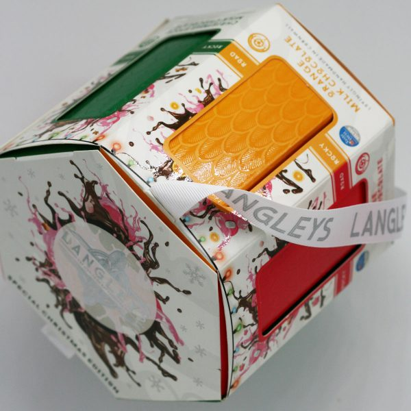 christmas carousel chocolate box