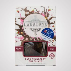cranberry dark chocolate rocky road