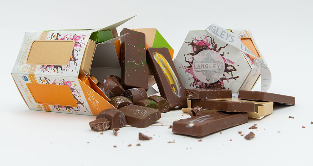 luxury chocolate gifts from langleys rocky road