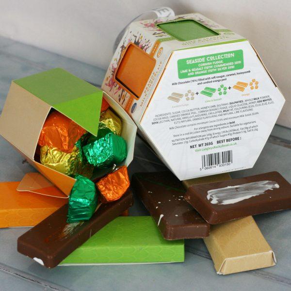 seaside carousel chocolate selection