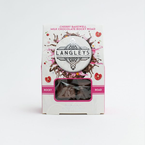 cherry bakewell milk chocolate rocky road front