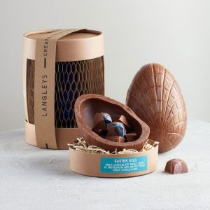 Gin Milk Chocolate Easter Egg from Langleys