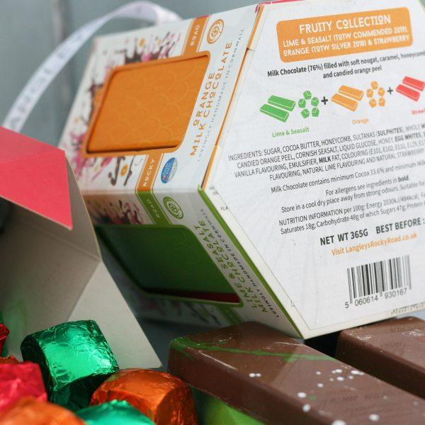 fruity carousel chocolate box