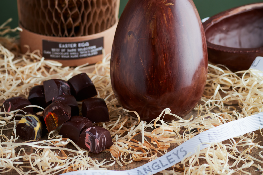 luxury easter eggs from Langleys rocky road